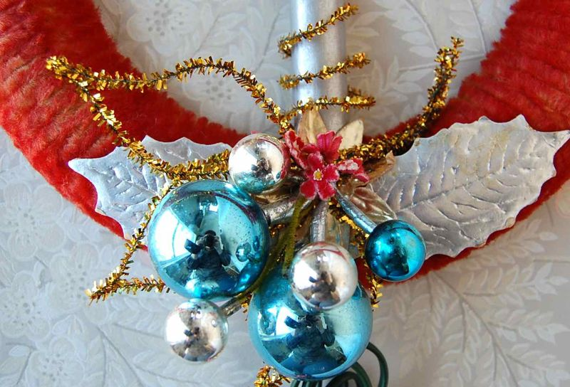 Wreath, Blue 2