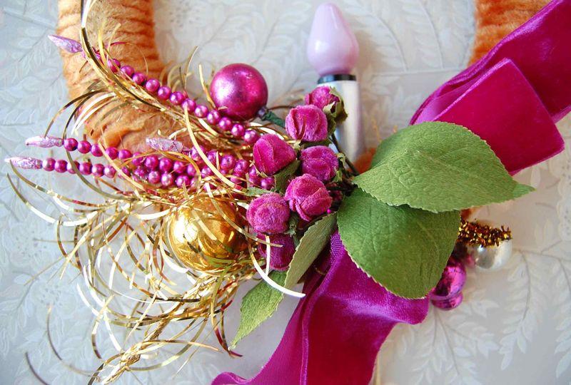 Wreath, Pink 3