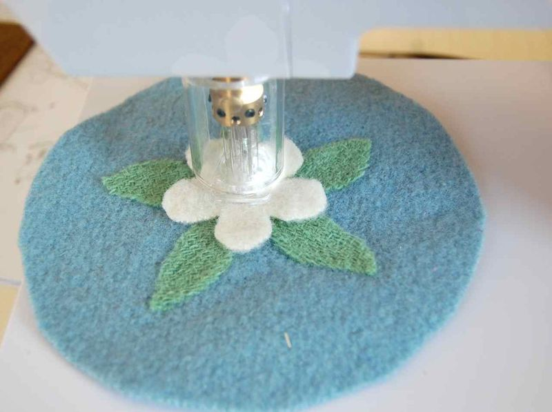 PC4 Flower Felting