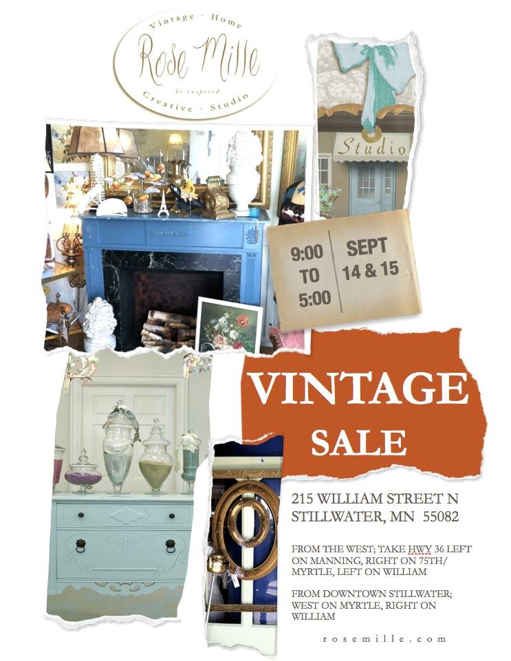 Vintage Sale Image