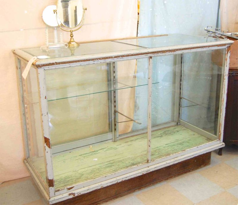 Grey-Wood-Antique-Glass-Store-Counter