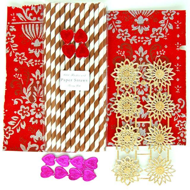 Materials Lovey Straws