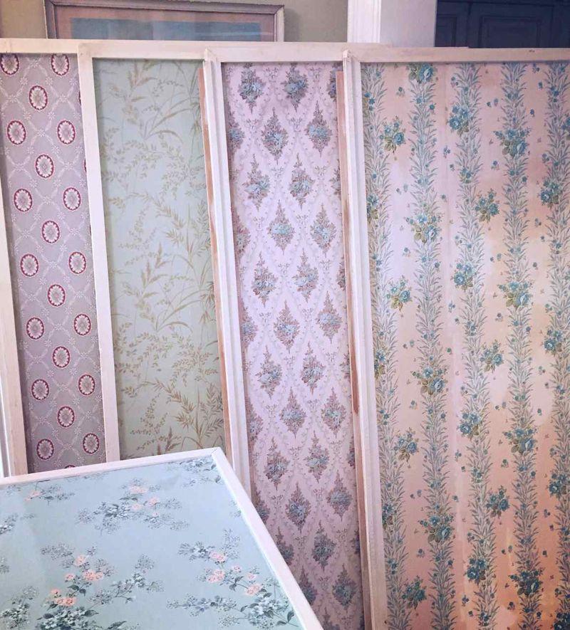 Wallpaper Pegboard Panels