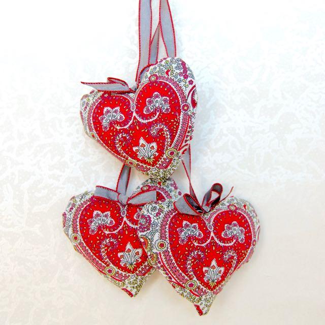 Liberty Heart Sachets