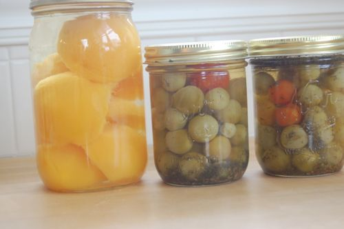 Peaches and Tomato Pickles