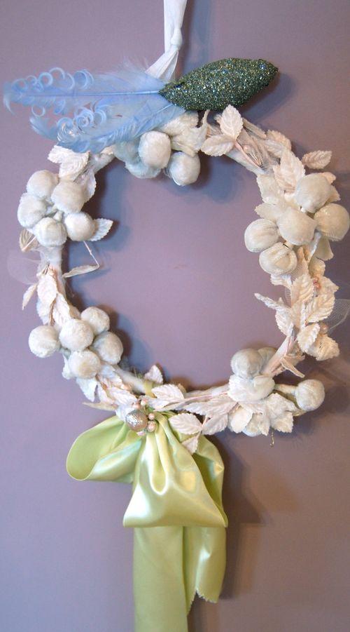 Velvet Berry Wreath