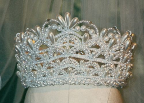 Five Layers Wedding Crown